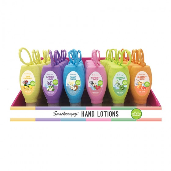 Hand Lotion with Solicone Holder