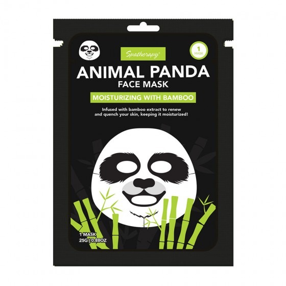 Animal Panda Moisturizing Face Mask with Bamboo