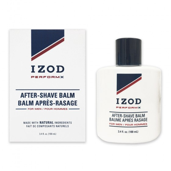 Izod PerformX After Shave Balm Bottle in Paper Box