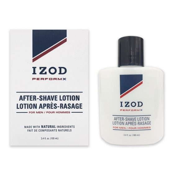 Izod PerformX After Shave Lotion Bottle in Paper Box