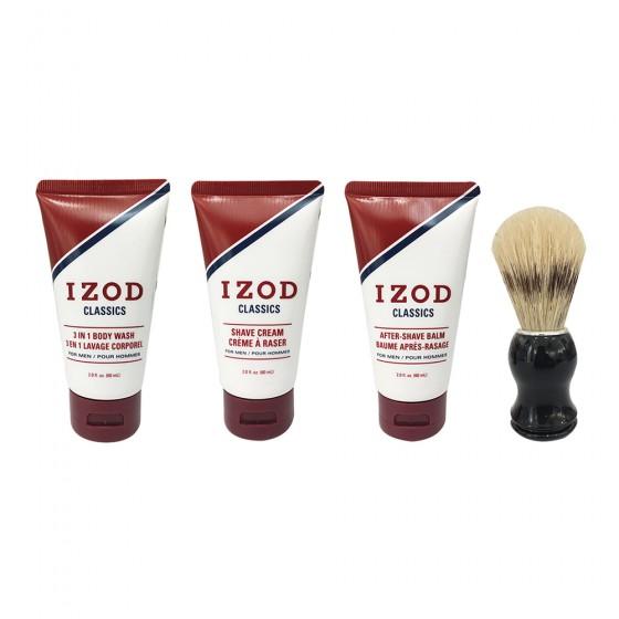 Izod Classics 4-Piece Travel Size Kit