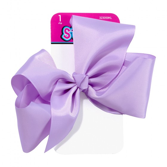 1pc Large Satin Bow Salon Clip
