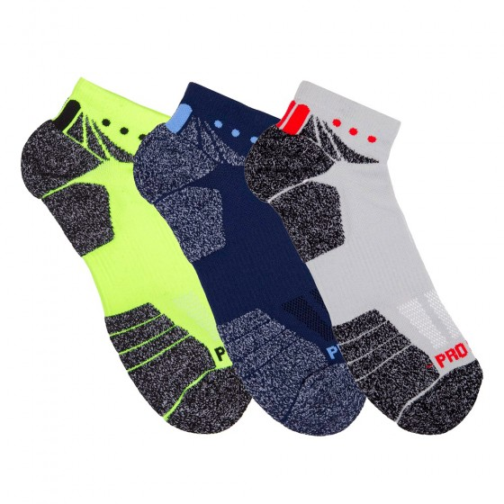 Hi-Performance Pro Sox Mens 3 Pack No Show Athletic Socks; Size 10-13