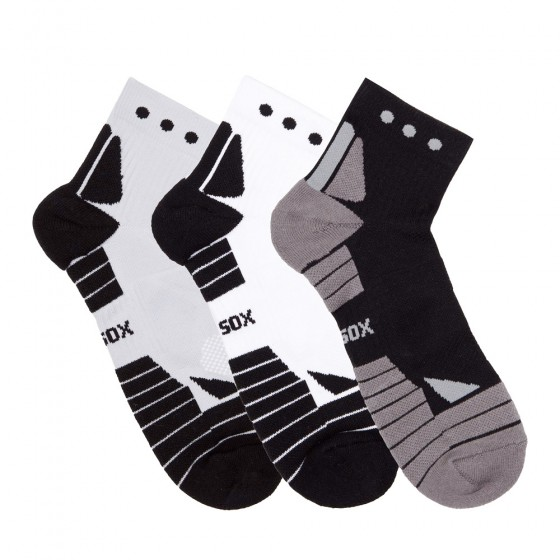 Hi-Performance Pro Sox Ladies 3 Pack Quarter Athletic Socks; Size 9-11