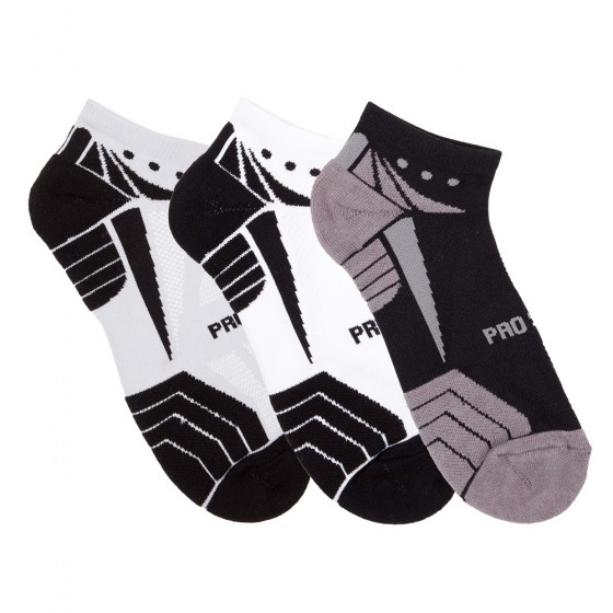 Hi-Performance Pro Sox Ladies 3 Pack No Show Athletic Socks; Size 9-11