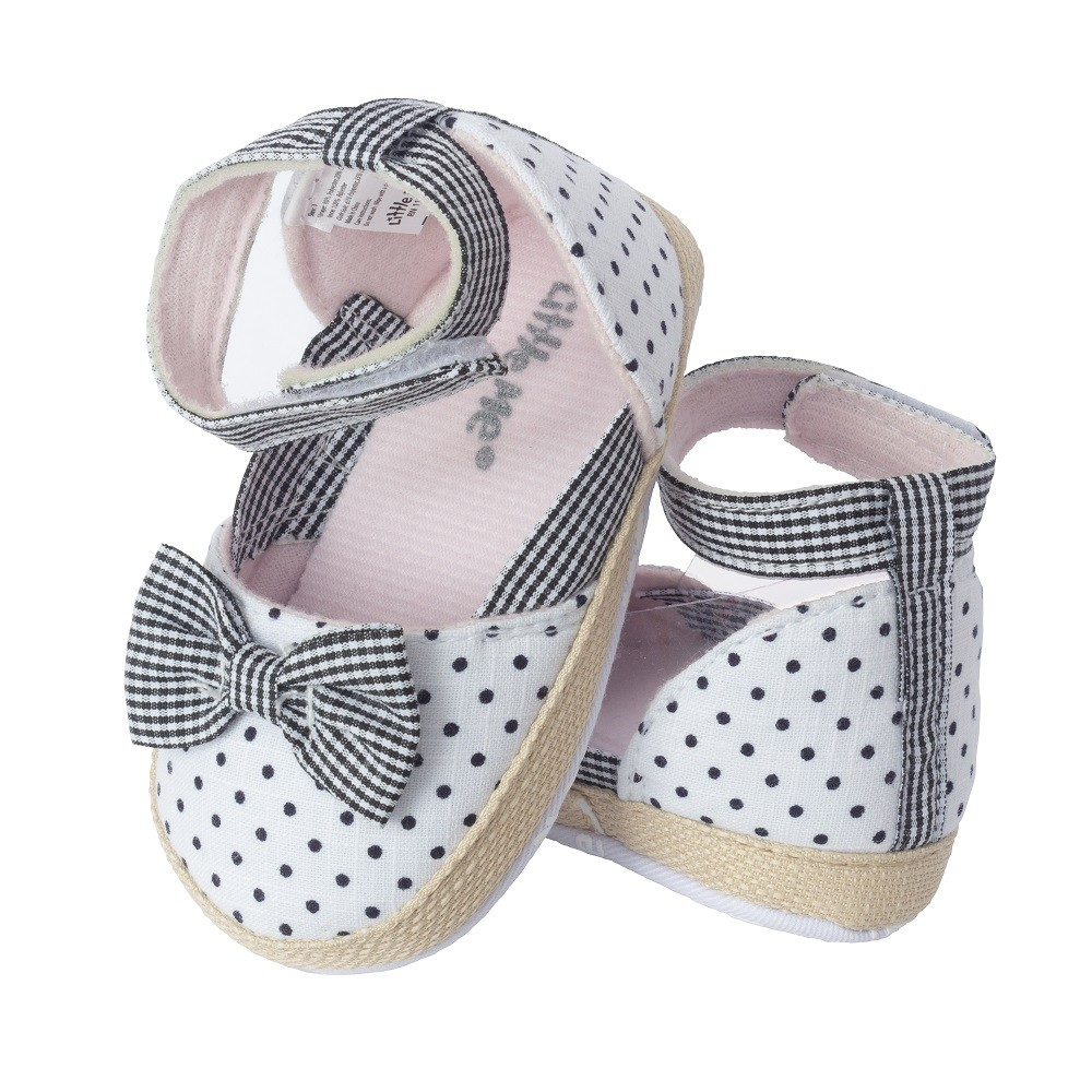 Baby Girl Shoe with Bow; Assorted Sizes