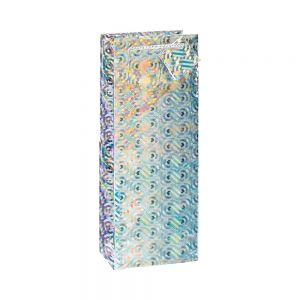 Holographic Bottle/ Wine Bags; 5 Bag Assortment