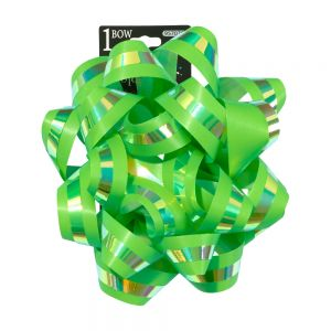 Iridescent Bright Star Bows; 4 Bows Assorted