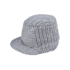 So 'Dorable Newborn Boys' Grey Ribbed Cap