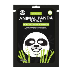 Animal Panda Moisturizing Face Mask with Bamboo