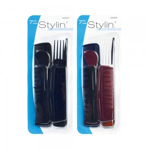 7pc Assorted Comb Set
