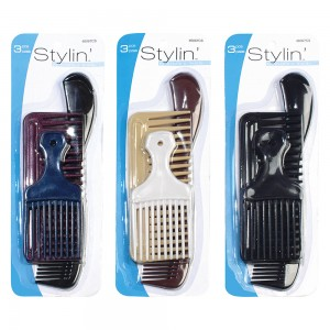 3pc Assorted Comb Set