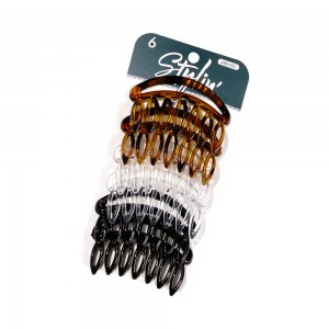 6pc Fashion Hair Combs