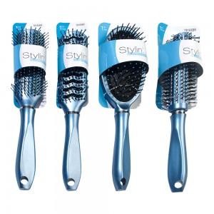 1pc Blue Metallic Assorted Brush