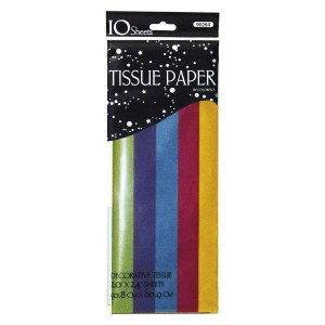 10 CT. Bright Step Fold Tissue Paper