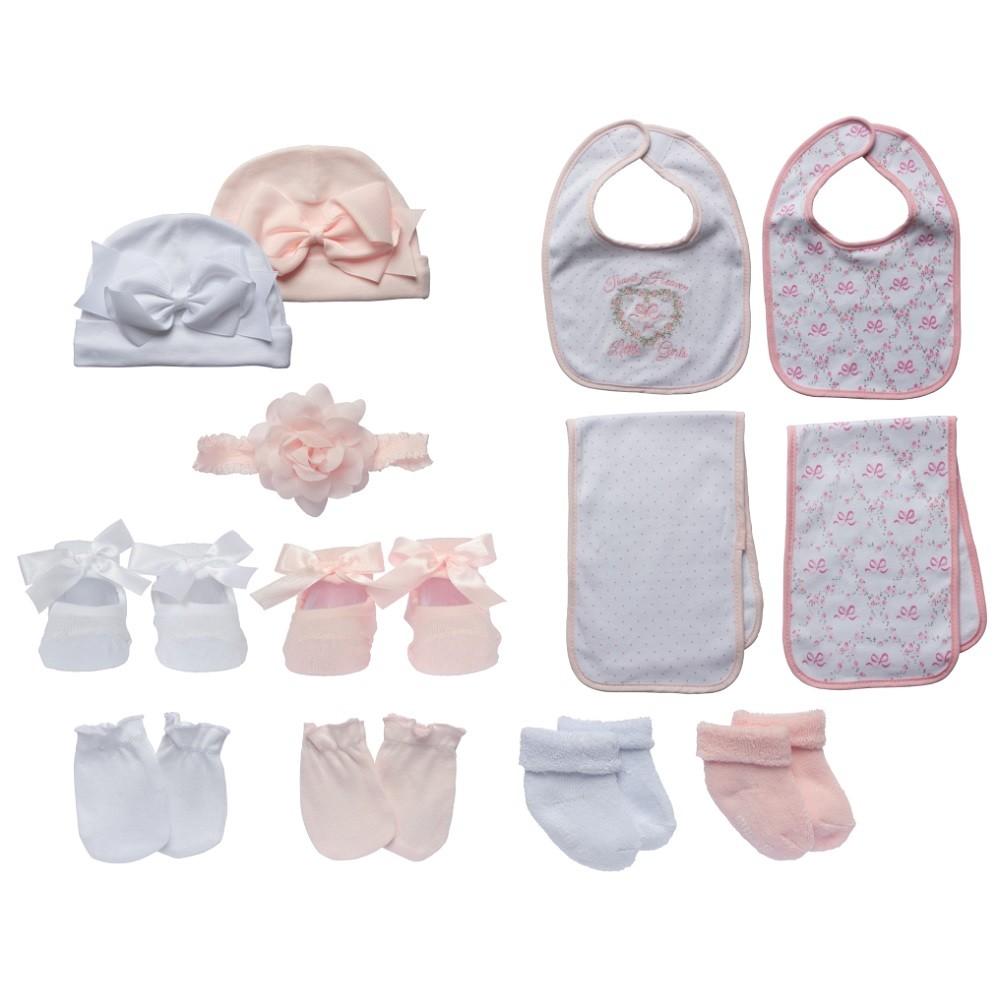 Little Me Baby Girls Newborn Essentials Gift Set